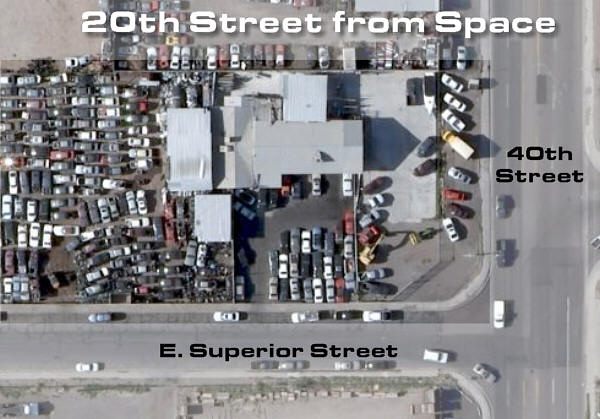 20th Street from Space